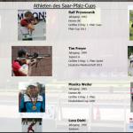 Athleten des Saar-Pfalz-Cup