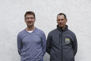Michael Frey und Frank Börtzler