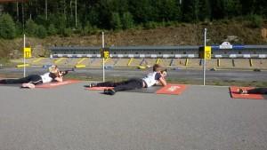 Biathlonanlage in Bayerisch Eisenstein