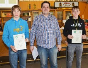 3. Platz Mannschaft Luftpistole Jugend