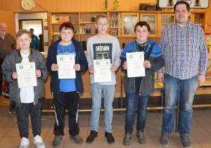 Sieger Mannschaft Luftgewehr Schüler